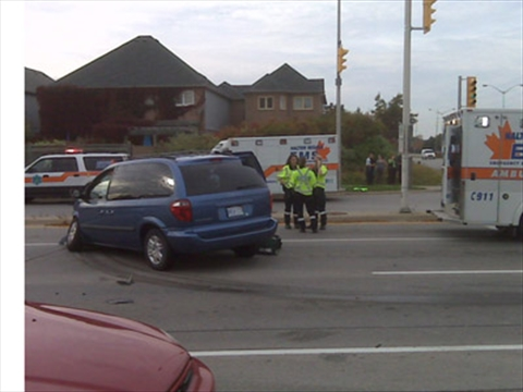 Georgetown Road And  Car Burlington Accident