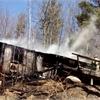 Fire destroys Chalk Lake home