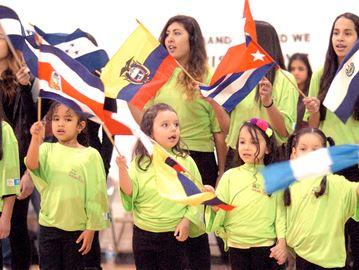 Fraternity Hispanic Association children's choir