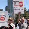 Protesters call Ontario's 'shaming' of doctors 'disgusting'