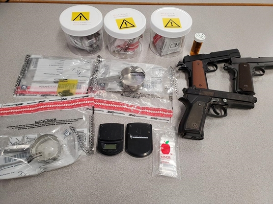 Five arrested in drug busts in Cambridge and Kitchener on Wednesday