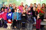 Prescott skaters cheer for Alaine Chartrand