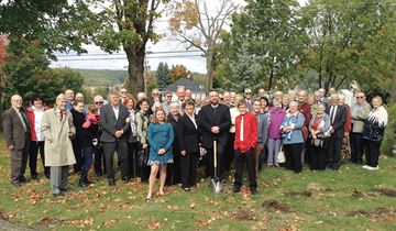 Penetanguishene church breaks ground on addition