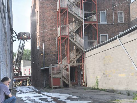 Residents Escape A Port Hope Apartment Fire