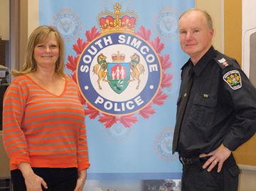 South Simcoe Police Sgt. Bob Eeles hangs up his uniform