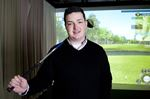 Golf comes indoors for winter