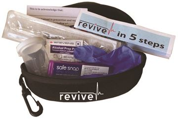 Naloxone kits available locally
