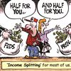 Today's cartoon:  income splitting