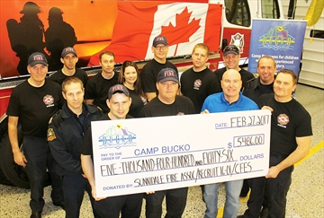 Clearview firefighters help fund