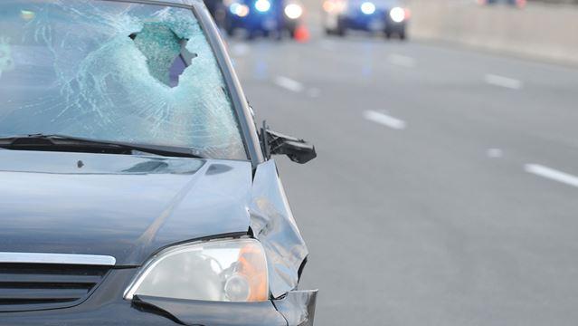 Pedestrian hit on Hwy. 401