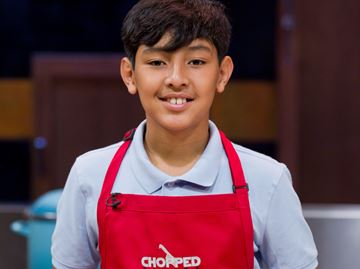 Milton teen slices and dices his way onto national television