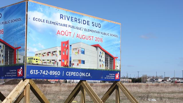 New French public school in works for Riverside South