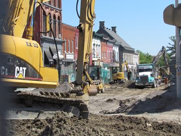 Downtown Arnprior facelift