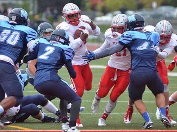 Winning touchdown