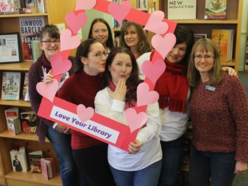 Love is in the air at the Meaford Library