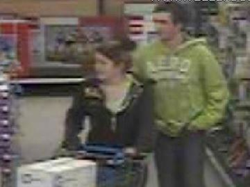 South Simcoe Police released these images related to a shoplifting incident at a Bradford store.