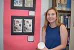 Library at South Carleton High School becomes art gallery