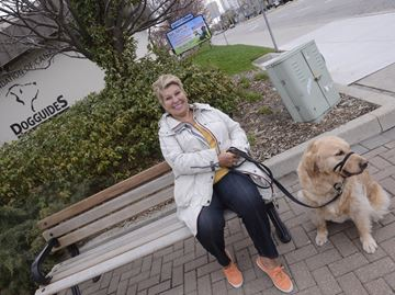 Dog Guide gives woman confidence to live full life