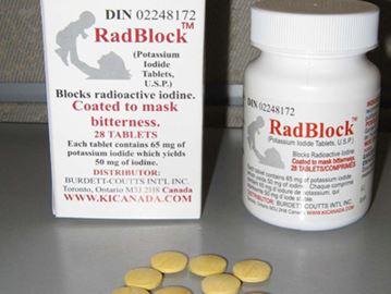 Iodide pills