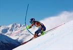2-time champion Shiffrin leads 1st run of ski worlds slalom-Image3