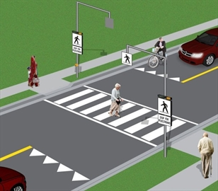 New pedestrian crossovers will be installed at five locations across Mississauga as part of a pilot program.