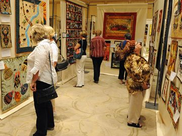 Comparing the wide variety and styles of work at the 2013 London International Quilt Show.