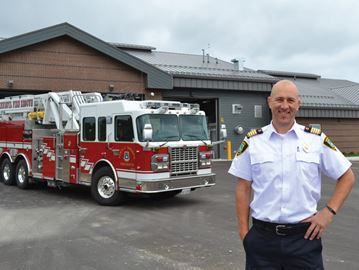 Lefroy fire hall's grand opening a hot ticket