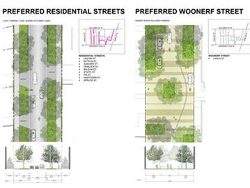 Northdale streetscape options
