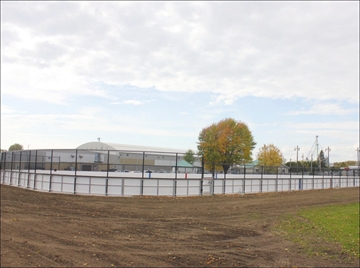 Gerry Lowe Sens rink nearly finished– Image 1