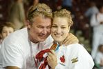 Kelita Zupancic with dad