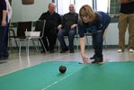 Carpet bowlers raise money for charity.
