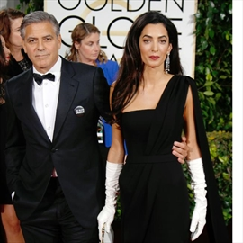 George Clooney's smart wife-Image1