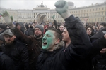 Protest in St. Petersburg