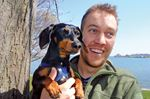 Celebrity dachshund promotes awareness of tick dangers