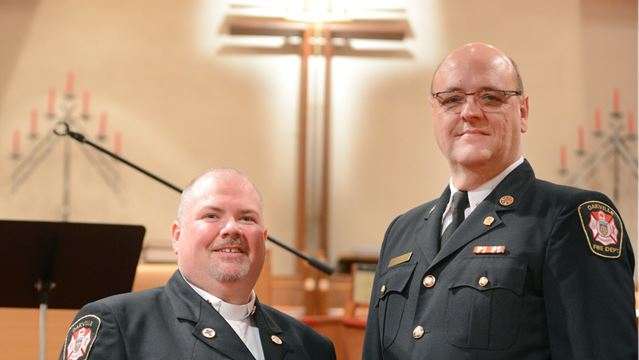Oakville Fire welcomes Rev. Sean Foster as its new chaplain