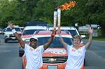 Passing the Pan Am Torch in Brockville
