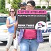 Stop HIV witch hunt: protesters