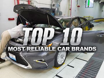Top 10 car brands