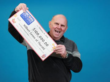 Thorold man a 'big winner' with ENCORE