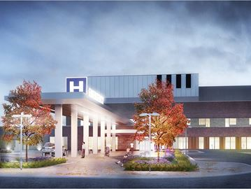 Milton hospital expansion project 'on time and on budget'
