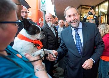 Mulcair says NDP deserve a shot at governing-Image1