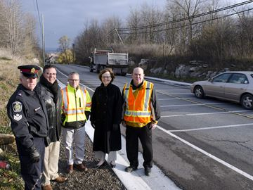 Lincoln officials seek enhanced safety on Mountain Road