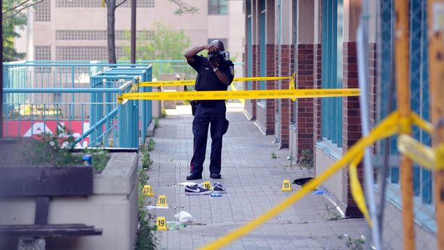 Enfield Place shooting