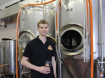 Kilannan Brewing wins Meaford Dragons' Den