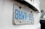 Peeling licence plate problem could cost you