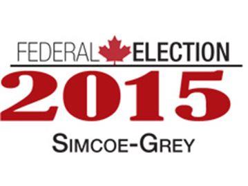 Federal Election 2015 Simcoe-Grey
