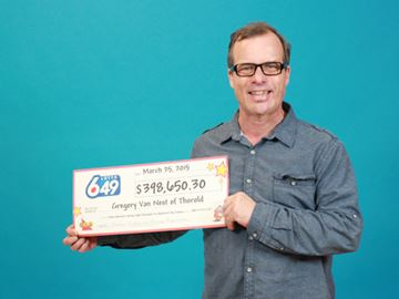 Thorold man wins nearly $400,000 from Lotto 6/49