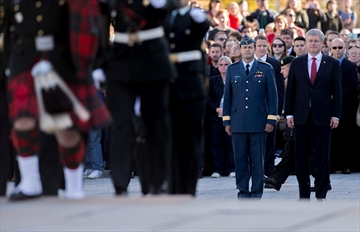 Honour guard restored at National War Memorial-Image1