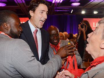 Trudeau in Markham