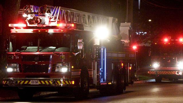 Police investigating possible arson